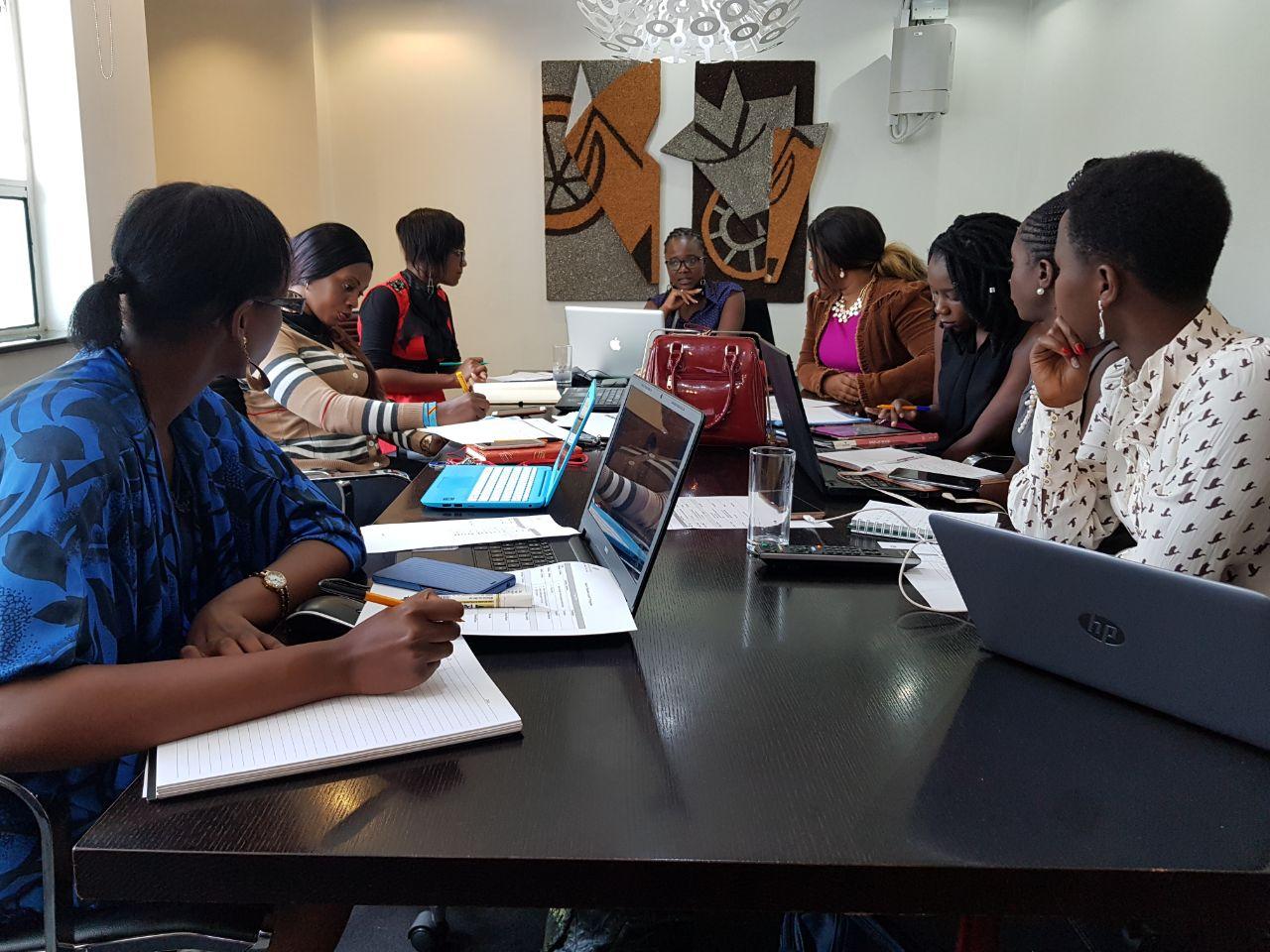 eveminet team at consultancy meeting