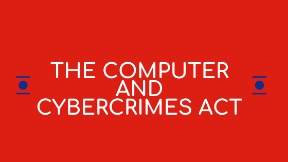 computer and cybercrimes act